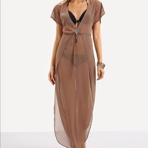 Other - NWOT Sheer Coverup, Sz L